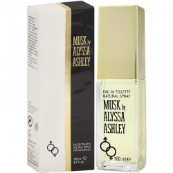 Alyssa Ashley Musk Perfume for Women Eau de Toilette EDT Vapo 100 ml
