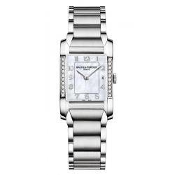 Women's Baume & Mercier Watch Hampton 10051 Diamonds Mother of Pearl
