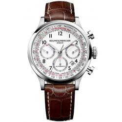 Men's Baume & Mercier Watch Capeland 10082 Automatic Chronograph