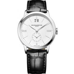 Men's Baume & Mercier Watch Classima 10218 Dual Time Quartz