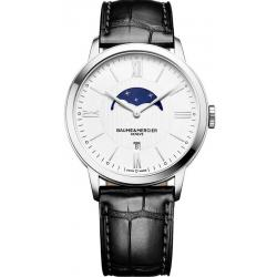 Men's Baume & Mercier Watch Classima 10219 Moonphase Quartz