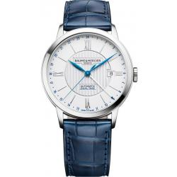 Men's Baume & Mercier Watch Classima 10272 Dual Time Automatic