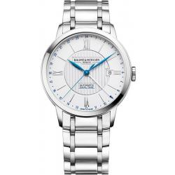 Men's Baume & Mercier Watch Classima 10273 Dual Time Automatic