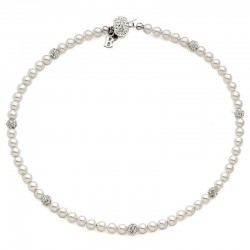 Buy Women's Boccadamo Necklace Perle GR497 Swarovski