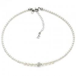 Buy Women's Boccadamo Necklace Perle GR501 Swarovski