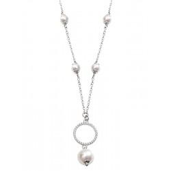 Women's Boccadamo Necklace Sylvie GR618 Swarovski