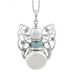 Buy Women's Boccadamo Necklace Kerubina KUGR21 Swarovski Angel
