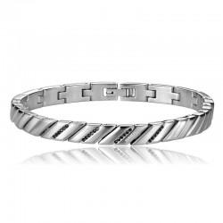Buy Men's Breil Bracelet Cross Cut TJ1532
