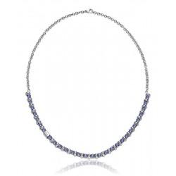 Women's Breil Necklace Rolling Diamonds TJ1570