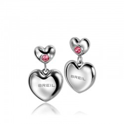 Women's Breil Earrings Love Around TJ1704 Heart