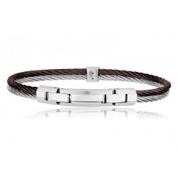 Buy Men's Breil Bracelet Cable TJ1829