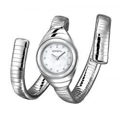 Women's Breil Watch B Snake TW1052 Mother of Pearl Quartz