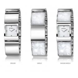 Women's Breil Watch B Double TW1054 Mother of Pearl Quartz