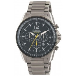 Men's Breil Watch Titanium TW1658 Solar Chronograph