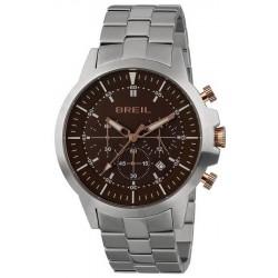 Men's Breil Watch X.Large TW1838 Quartz Chronograph
