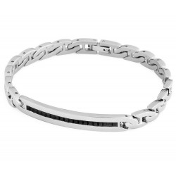 Buy Men's Brosway Bracelet New Flat Chain BFC31