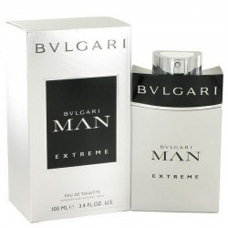 Bulgari Man Extreme Perfume for Men Eau de Toilette EDT Vapo 100 ml