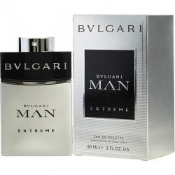 Bulgari Man Extreme Perfume for Men Eau de Toilette EDT Vapo 60 ml