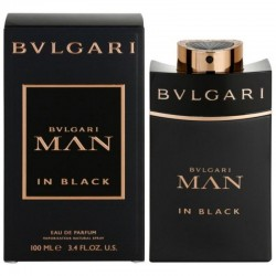 Bulgari Man in Black Perfume for Men Eau de Parfum EDP Vapo 100 ml