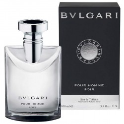 Bulgari Soir Perfume for Men Eau de Toilette EDT Vapo 100 ml