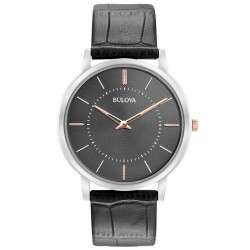 Men's Bulova Watch Ultra Slim 96A167 Quartz