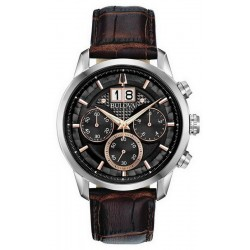 Men's Bulova Watch Sutton Classic 96B311 Quartz Chronograph