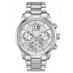 Men's Bulova Watch Sutton Classic 96B318 Quartz Chronograph
