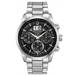 Men's Bulova Watch Sutton Classic 96B319 Quartz Chronograph