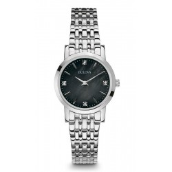 Buy Women's Bulova Watch Diamonds 96S148 Mother of Pearl Quartz