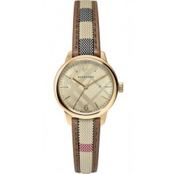 Buy Women's Burberry Watch The Classic Round BU10114