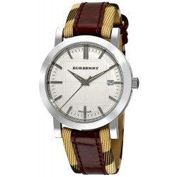 Unisex Burberry Watch Heritage Nova Check BU1389