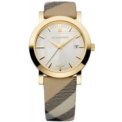 Buy Women's Burberry Watch The City Nova Check BU1398