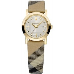 Buy Women's Burberry Watch The City Nova Check BU1399