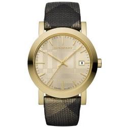 Buy Unisex Burberry Watch The City Nova Check BU1874