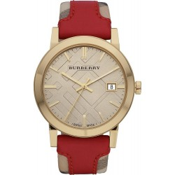 Buy Women's Burberry Watch Heritage Nova Check BU9017