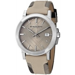 Unisex Burberry Watch Heritage Nova Check BU9021