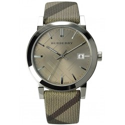 Buy Unisex Burberry Watch The City Nova Check BU9023
