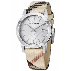 Buy Women's Burberry Watch The City Nova Check BU9113