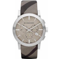 Buy Men's Burberry Watch The City Nova Check BU9358 Chronograph