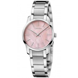 Buy Women's Calvin Klein Watch City K2G2314E Mother of Pearl
