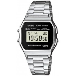 Buy Casio Collection Unisex Watch A158WEA-1EF Multifunction Digital