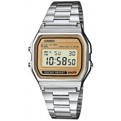 Buy Casio Collection Unisex Watch A158WEA-9EF Multifunction Digital