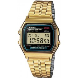 Buy Casio Collection Unisex Watch A159WGEA-1EF Multifunction Digital