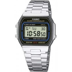 Buy Casio Collection Unisex Watch A164WA-1VES Multifunction Digital