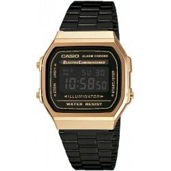 Buy Casio Vintage Unisex Watch A168WEGB-1BEF