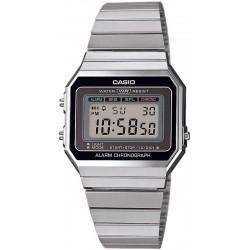 Buy Casio Vintage Unisex Watch A700WE-1AEF