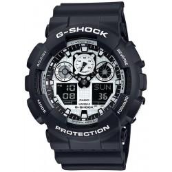 Casio G-Shock Men's Watch GA-100BW-1AER Multifunction Ana-Digi
