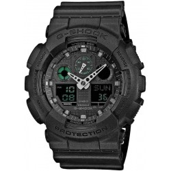 Casio G-Shock Men's Watch GA-100MB-1AER Multifunction Ana-Digi