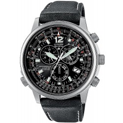 Buy Men's Citizen Watch Chrono Eco-Drive Radio Controlled Titanium AS4050-01E