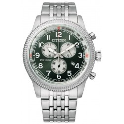 Buy Mens Citizen Watch Aviator Chrono Eco Drive AT2460-89X